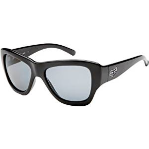 4dea62104a Fox Racing The Gu Gu Women s Designer Sunglasses Eyewear - Polished Black  Grey   One Size Fits All