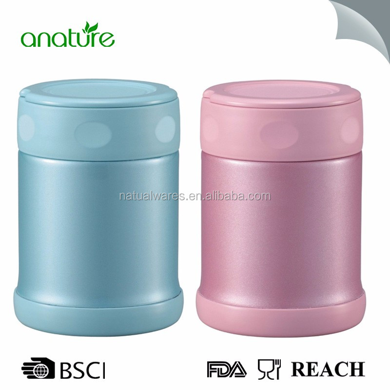 350ML/500ML Stainless Steel Vacuum Thermos Food Jar for Kids, Food Thermos, Soup Mug