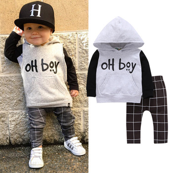 New Fashion Kids Boutique Outfits Cool Boys Clothing Sets Kids