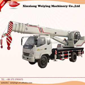 10 Ton Crane Tipper Truck with Perfect Condition