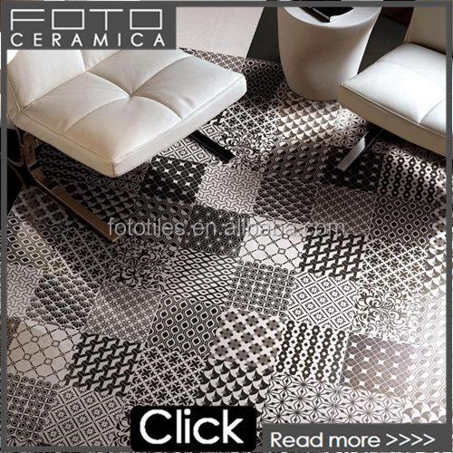 단색 세련된 격자 무늬 패턴 이름 디자인 거실 바닥 타일-타일 ...