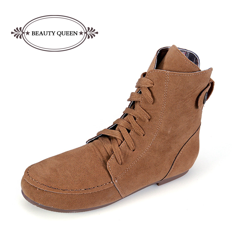 e240c0f5f7c New Women Stretch Suede Ankle Boots Autumn Fashion Ladies Short Boots  Women s Boots Casual Brand Shoes