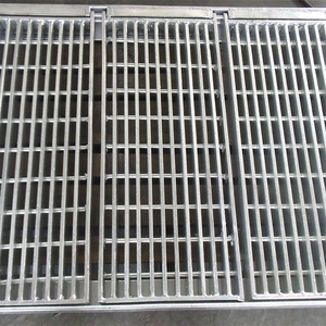 webforge steel grating price and Galvanized floor drain steel grating drainage cover