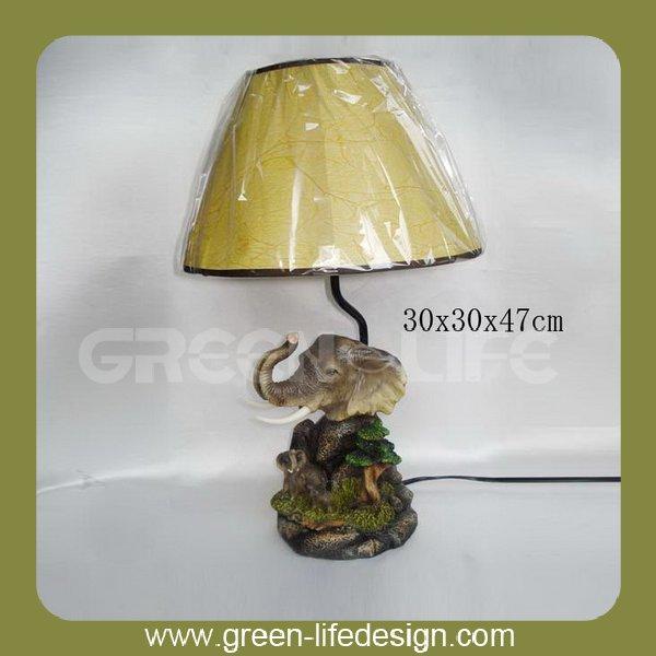 Decorative Elephant Head Animal Base Table Lamp