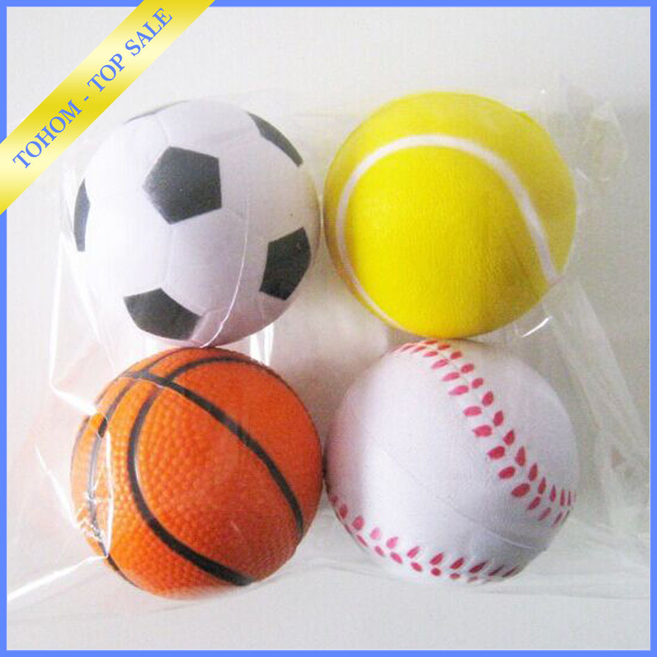 Cheap price custom logo pu stress ball