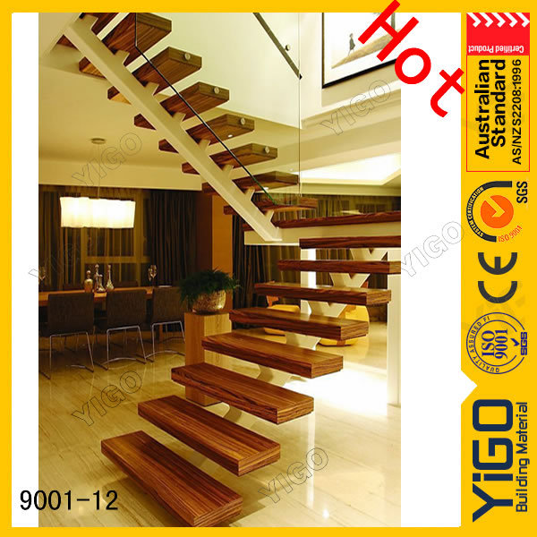 Hot timber staircase for wholesales