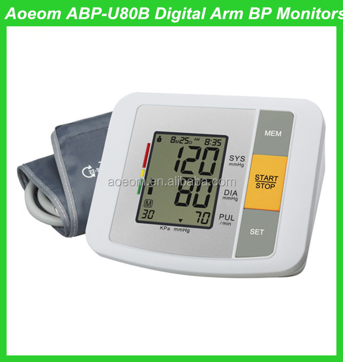 Factory Best Price Blood Pressure Monitor Medical Supplies Digital ...