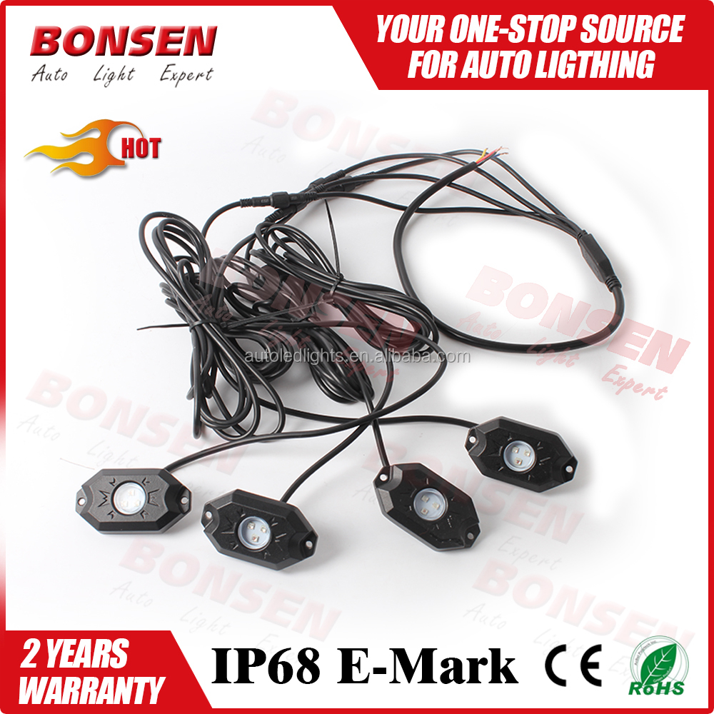Led boot verlichting onder auto led truck bed rock licht ...