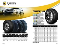 RHINO TYRE ST TRAILER TYRE, LIGHT TRUCK TYRE manufacturer in China