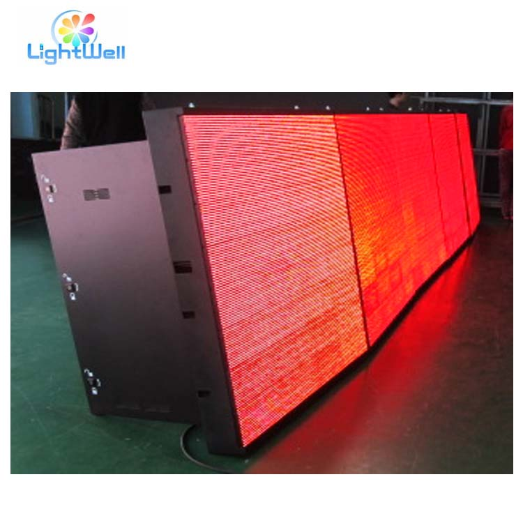 Alibaba waterdicht programmeerbare led moving message sign board/12v led auto bericht bewegende scrollen teken display paneel