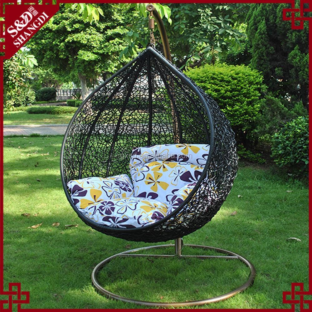 terrasse schwingt outdoor wicker ei h ngesessel schwingen. Black Bedroom Furniture Sets. Home Design Ideas