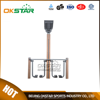 Digital counting timer air walker of crane fitness equipment