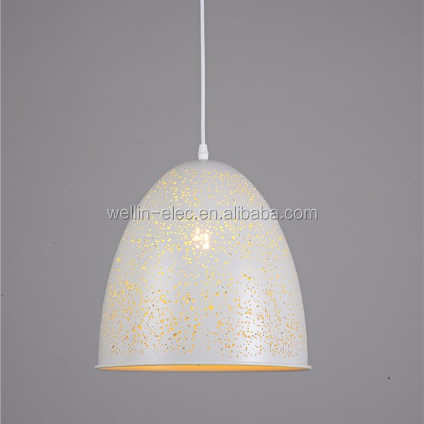 Luxury Decoration Home Modern Chandelier Pendant Lamp Cord Set Ivory White Color