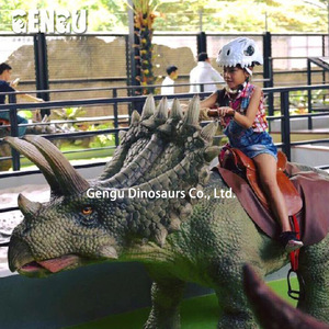 Emulation Dino Ride For Theme Park Dinosaur Ride Coin Operate