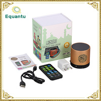 Portable Mini Speaker FM Radio Quran MP3 Player with Remote Control ,8GB Full Quran with Translations