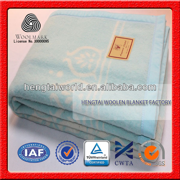 NO.1 China blanket factory Adults wearable baby warm brand name picnic wool blanket