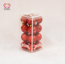 4CM Ball 16pcs christmas tree decoration plastic ball