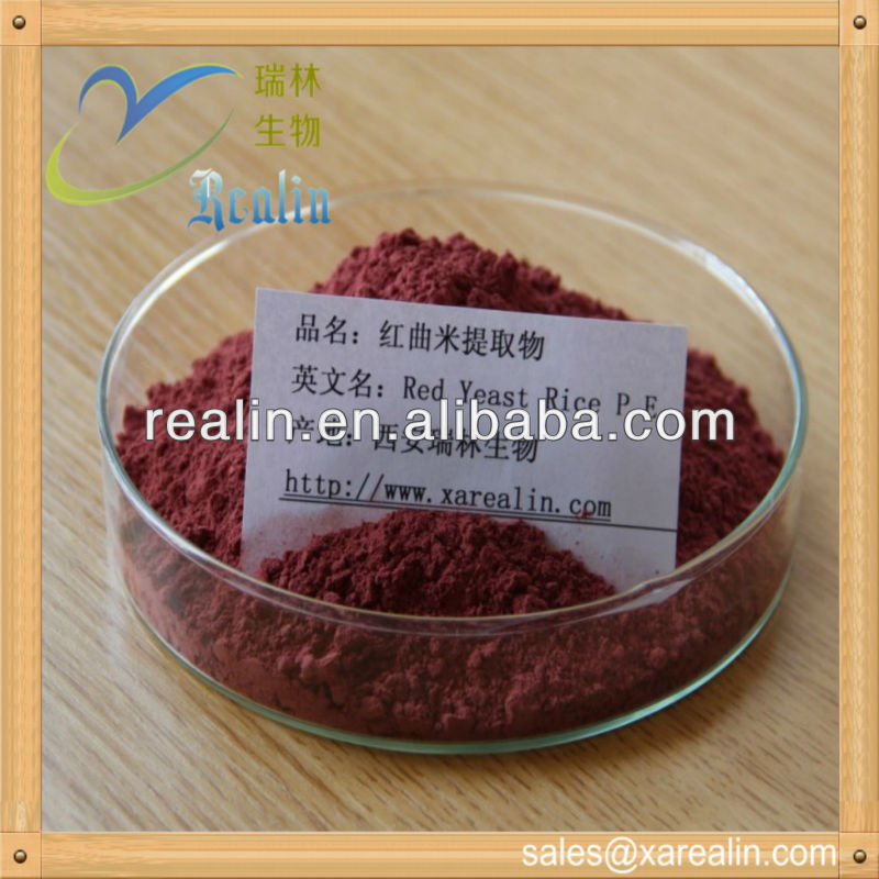 Natural plant extract factory supply natural Red Yeast Rice Extract