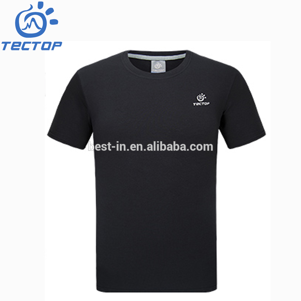 China Manufacturer Mens Blank T-Shirt Cotton