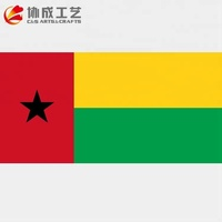 All Country Oem Printed Guinea Bissau Country Flag