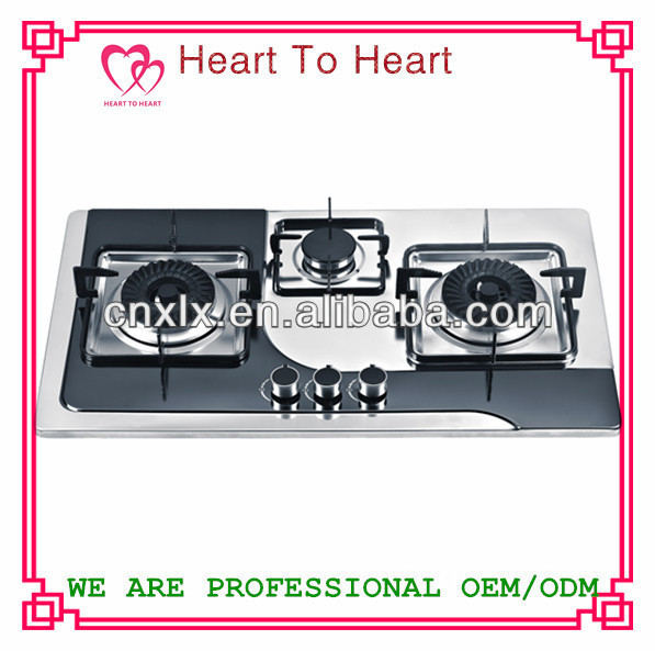 3 burners Gas Hob/Gas Stove/Gas Cooker XLX-HW6-1