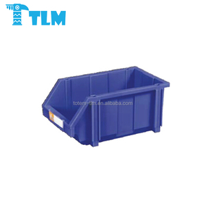 Whole Sales Low Price Heavy Duty Recycle Gray Storage Plastic Bins for Warehouse