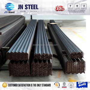 china supplier ASTM A36 equal and unequal L shape angle steel price list