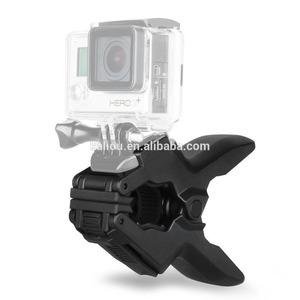 Kaliou Sport Camera GoPros shark Jaws Flex Clamp Mount holder for sport accessories camera