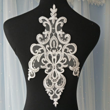 Europe Embroidery Lace Applique Wedding Dress Lace Patch