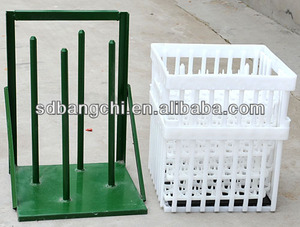 Chicken Plastic poultry transport cage/crate/box for hatching eggs