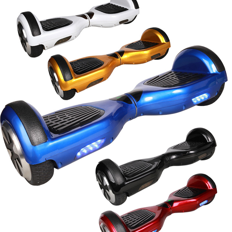 Free Shipping Mini Smart Self Balancing Scooter Two 2 Wheels Balance Electric Standing Scooter Skateboard Black Blue Red T001401