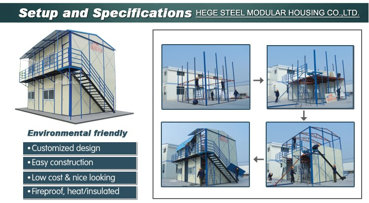 steel structure portable guard housemodulare chiosco/ prefab sentry box /low cost security guard house