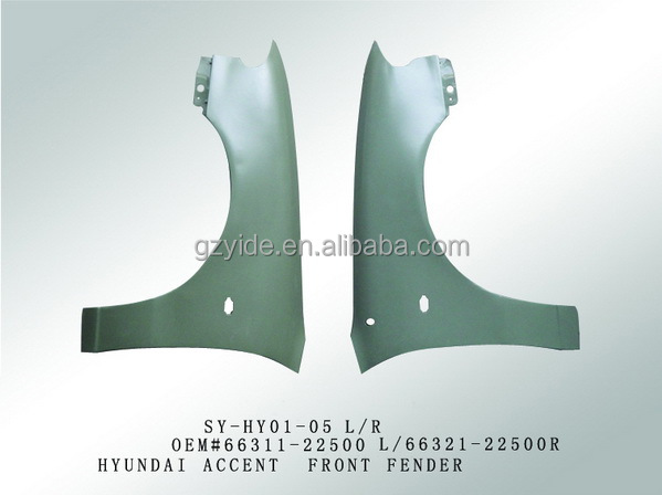 latest hottest selling fender for kia auto spare parts