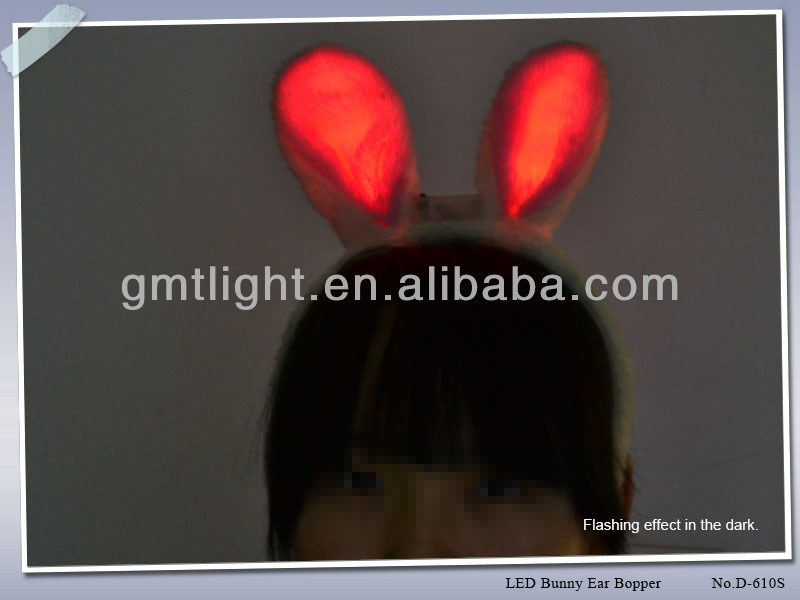 Bunny Ears Hairpin Promotional On Easter Day