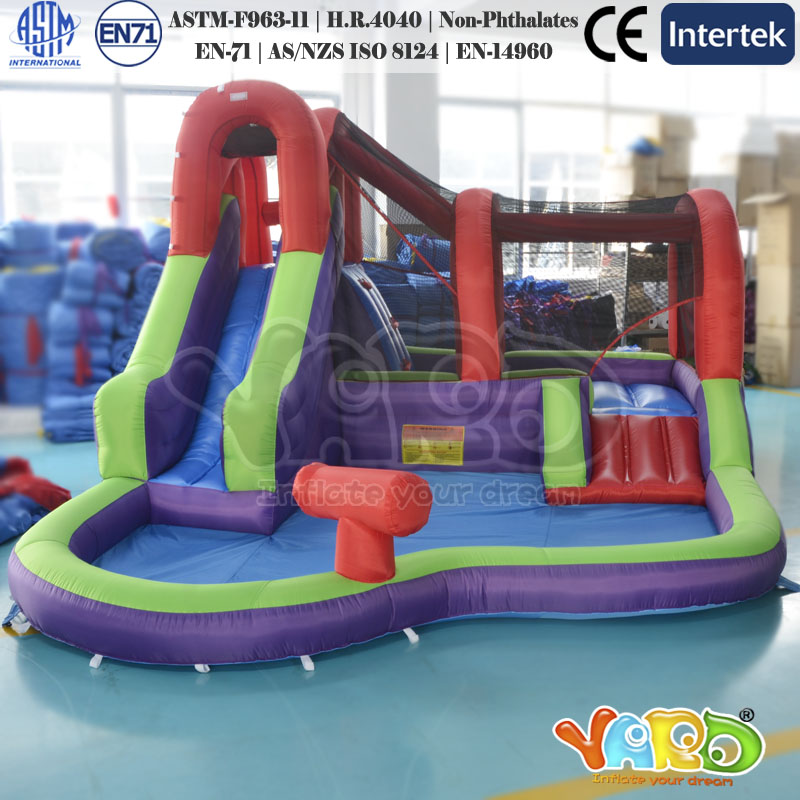 Inflatable Slide Where To Buy: Mini Polyester Bouncy Castle Cheap Inflatable Water Slides