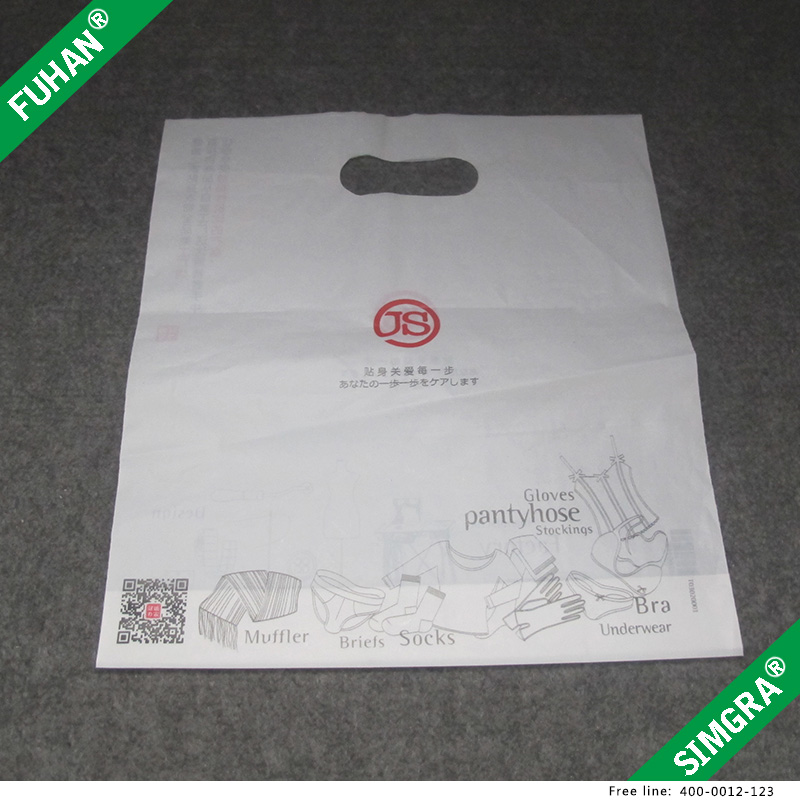 Wholesale Reusable Supermarket Shopping Plastic Bag