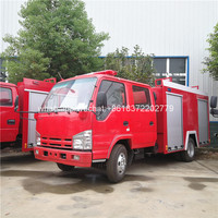 Japan brand double cab mini fire fighting truck for myanmar