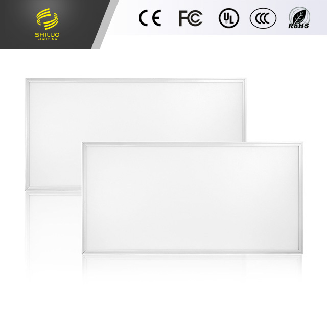 60w Flat Square Dimmable LED Recessed Ceiling Light Panel with Aluminum Frame