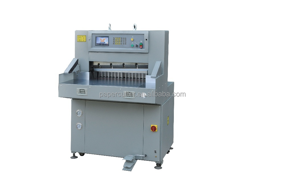 Small automatic guillotine paper cutter