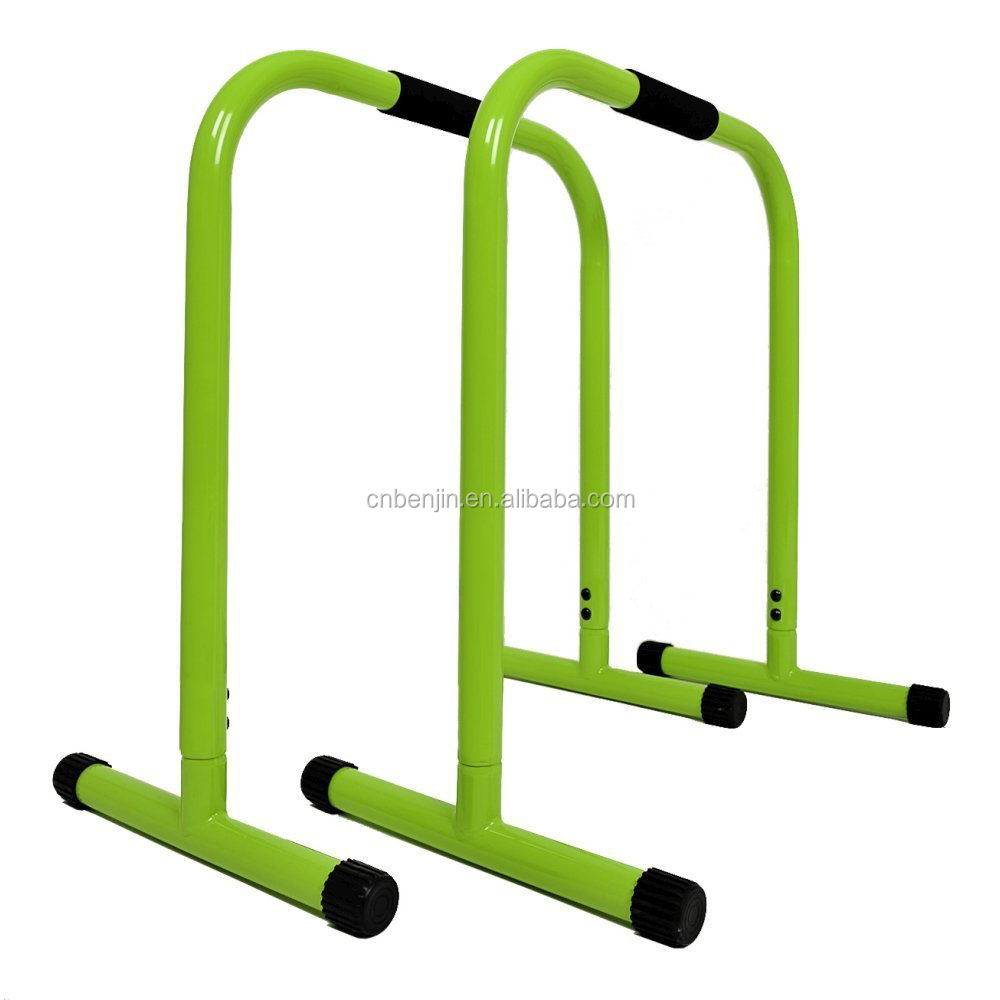 New Design Parallettes High Parallel Bars Home Dip Bar Gym Equipment
