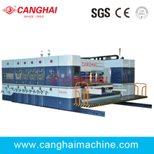 two colors of Flexo Printing Slotting Machine
