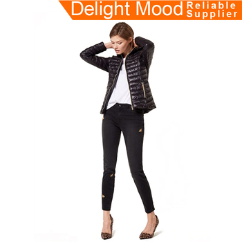Hot Sales High End female ladies design jackets,downjackets factory