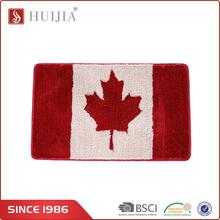 Huijia Brand New Hotsell 100% Polyester Door Mat Rugs Carpet For Hotel