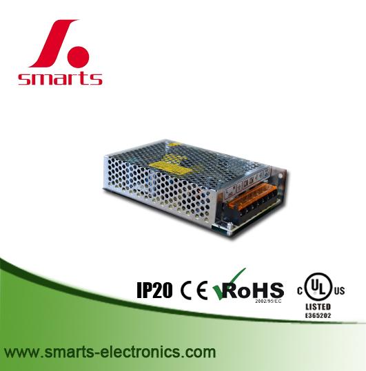 CE Rohs UL listed dc24v 90w 100w switching power supply