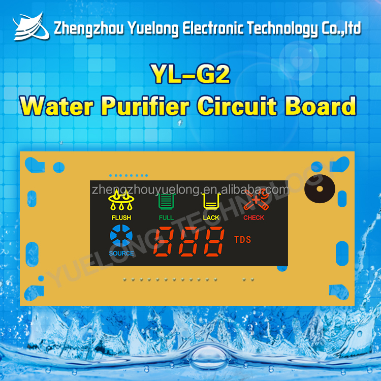 Water purifier microcomputer board Ro machine sbc water dispenser circuit control board with TDS value display