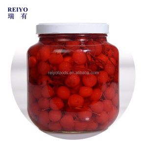 Canned fruit cherry in light syrup