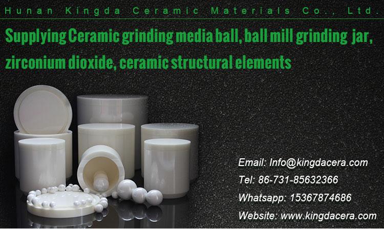 Lab Planetary Ball Mill 100ml Ceramic Alumina Grinding Jar w/ Ball Media