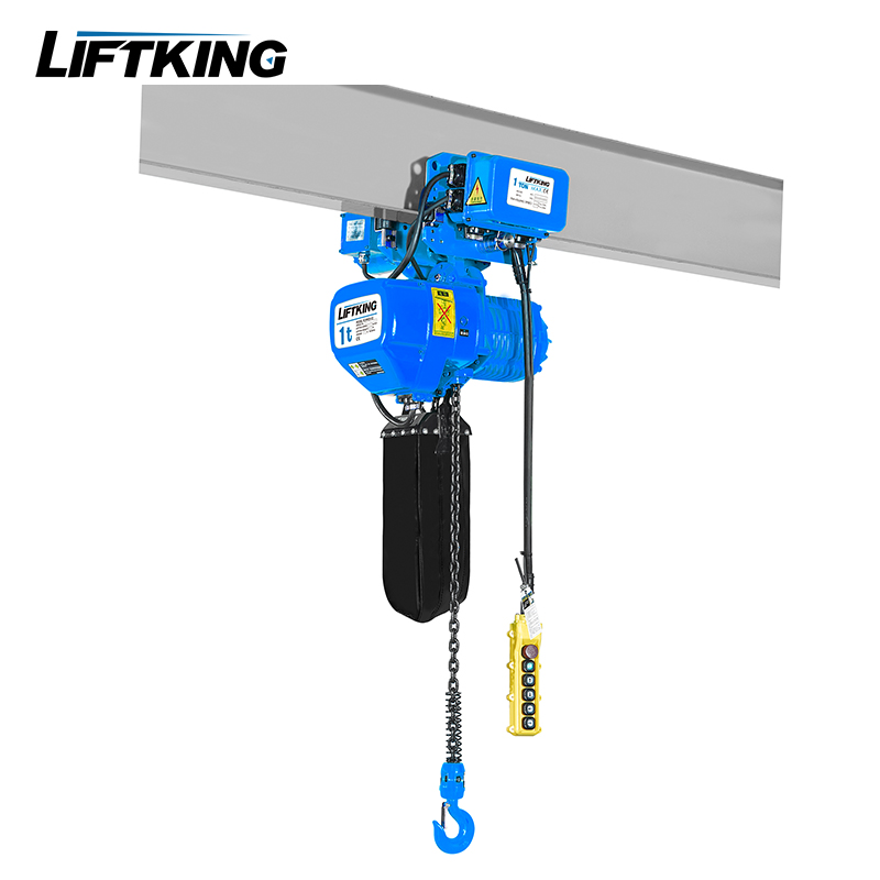 Liftking Brand 220v-690v double speed 1ton electric chain hoist