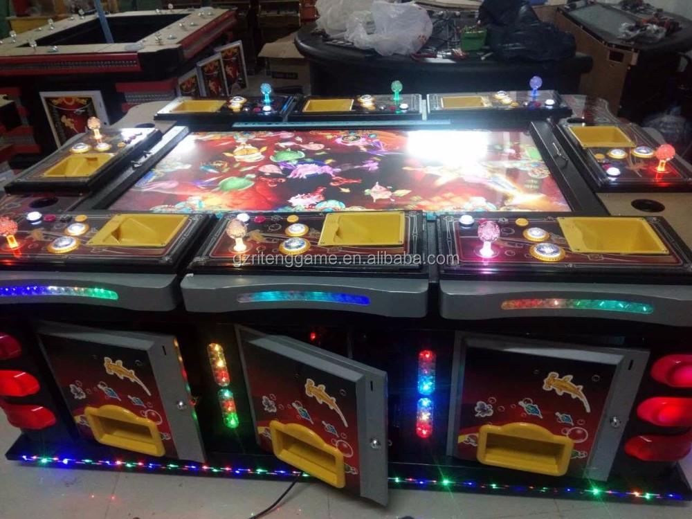 English version ocean king 2 plus fish hunter arcade game for Arcade fish shooting games