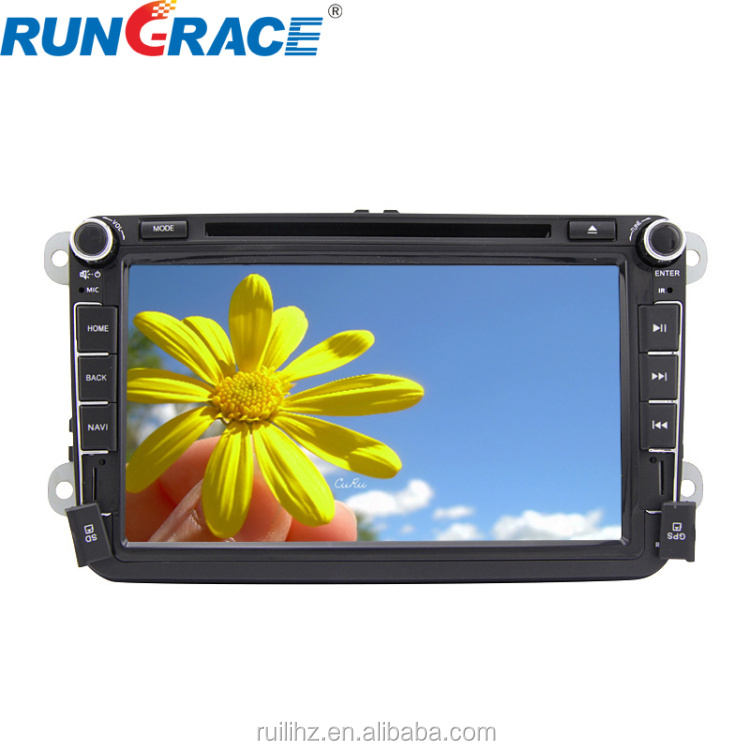 Wince 6.0 car gps navigation for volkswagen car gps navigation system with dvd CD player lowest price
